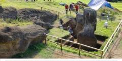 Le statue dell'isola di Pasqua hanno anche un corpo!