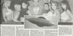 Robbie Williams: 'Ho visto un UFO'