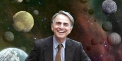 Carl Sagan: Riflessioni su un granello di polvere