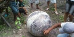 Misteriosa sfera cade vicino ad un villaggio brasiliano