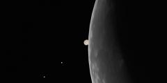 Occultazione di Giove: il 15 luglio il cielo continua a dare spettacolo !