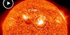 Nasa: Eruzione solare colpisce la terra